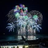 サザンオールスターズの40周年を盛大に祝福、日本最高峰の花火が名曲13曲と共に観客を魅了