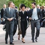 カーラ・デルヴィーニュ、ユージェニー王女の挙式で掟破りのタキシード着用許可を得ていた