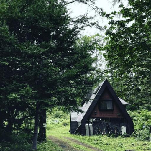 森のなかに佇む「小さなおうち」