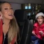 マライア・キャリー、車内で双子の子供達と『恋人たちのクリスマス』を熱唱