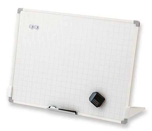 アスカ ホワイトボード セクションボード スタンド付 VWB075 暗線入り Lサイズ