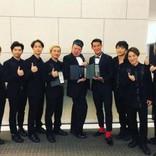 DA PUMP×野性爆弾くっきー×槙野智章 LINE『NEWS AWARDS 2018』表彰式でオフショット