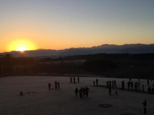 清和高原天文台 「初日の出観望会」