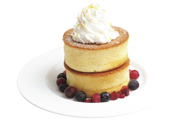 厚焼きパンケーキ(ダブル)