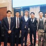 JOY、サッカー日本代表と並んでも違和感無し 自らを「ベッカム」タグ付け