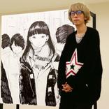 漫画家・浅野いにお、初のライブドローイングに挑戦! 『画業20周年記念企画 浅野いにおの世界展~Ctrl+T2~』レポート