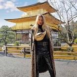 ヴィクシーモデルのロミー・ストリドが京都を満喫 「日本大好き!」