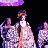 早乙女太一、ジャズに乗り花魁道中!凸凹な魅力詰まった音楽活劇『SHIRANAMI』開幕