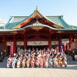 今年で9度目「AKB48グループ成人式」秋葉原の氏神 神田明神で開催