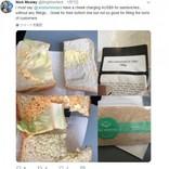 ジェットスター機内でレタス1枚のサンドイッチを700円で販売