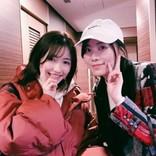 松井珠理奈&渡辺麻友、久々2ショットにファン歓喜「センネズ最高!」