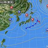 29日 北風 東北で暴風 太平洋側は乾燥