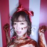プロフェッショナルロリ巨乳・京佳(19)、全身チョコまみれの姿が「エロかわいい」と話題に!
