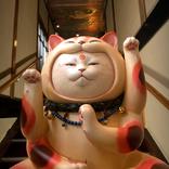 3,000点以上の猫アート作品が展示される『猫都のアイドル展 at 百段階段』 平安から平成まで猫の都のアイドルが大集合!
