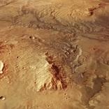 火星もかつては青かった。マーズ・エクスプレスから届いた太古の川の写真