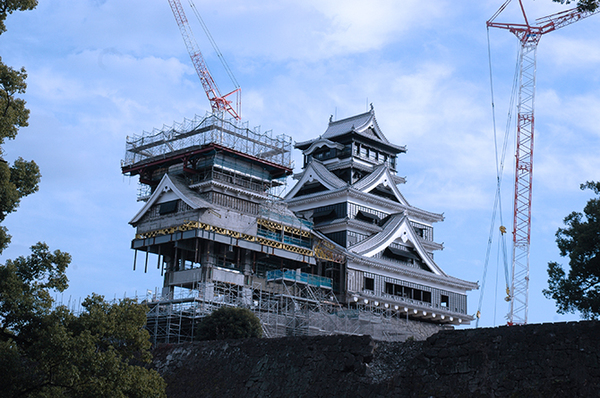 2019年1月撮影 写真提供:熊本城総合事務所