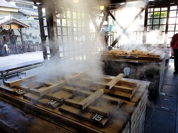 地獄蒸し工房鉄輪