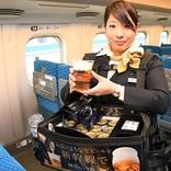 """東海道新幹線での""""神泡""""「プレモル」提供期間延長 前年対比4割増と好調"""