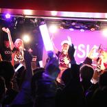 レースクイーンバンド「RiSH」がライブハウスで初のワンマンライブを開催