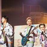 Sonar Pocketの全国ツアー東京公演、初披露楽曲や野外ワンマンビジュアル公開に大歓声