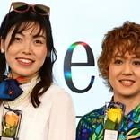 尼神インター・誠子、ゴージャス衣装で銀座に登場 「私の居場所」と自画自賛