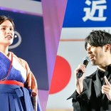 【近大卒業式】過去を変える「挑戦」を! キンコン西野と一ノ瀬メイのスピーチ