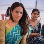 メーガン妃、王室入り前に訪れたインドでのサリー姿が公開される<動画あり>