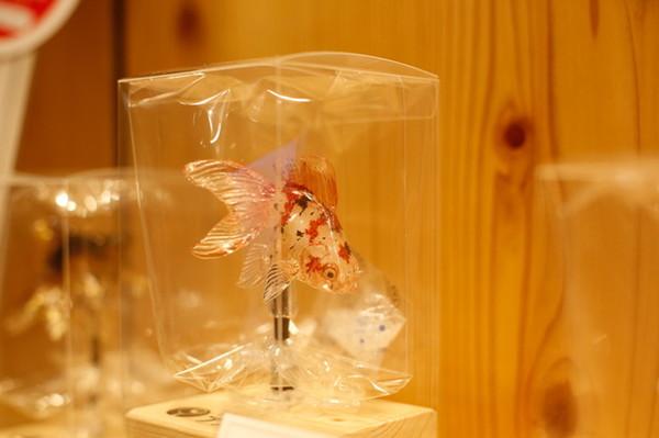 特におすすめの金魚の飴細工/3480円