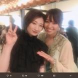 水崎綾女が武田梨奈に「いいから食べな」 ファンら「さすが拳を交えた女同士」