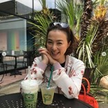 河野景子、娘と人気カフェでまったり 子供との時間が貴重なリラックスタイム