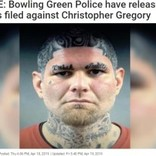 ユニークなタトゥーを持つ前科者、マグショット公開で即逮捕(米)