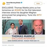 メーガン妃の母ドリアさん、初孫誕生に歓喜 一方で父トーマスさんは…