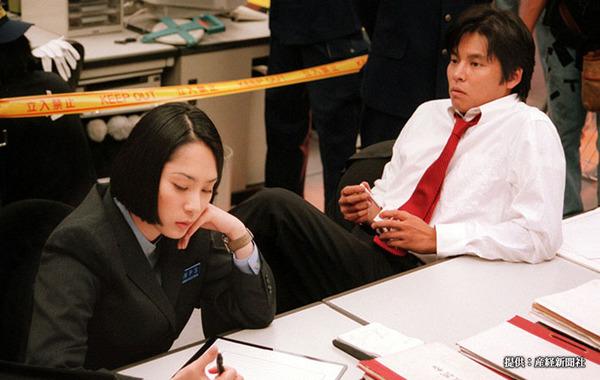 映画『踊る大捜査線』深津絵里と織田裕二
