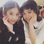 杉咲花&今田美桜の仲良し写真「花晴れ続編待ってる!」ファン歓喜