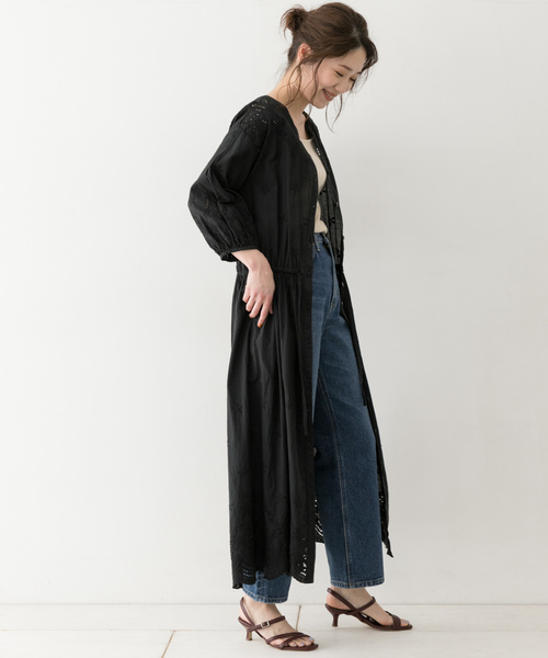 [URBAN RESEARCH ROSSO WOMEN] F by ROSSO カットレースワンピース