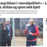 タバコを吸いながらペプシを飲むノルウェーの公衆衛生相の発言が物議を醸す