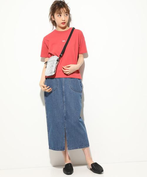[ViS] 【Lee×ViS】ミニロゴTシャツ