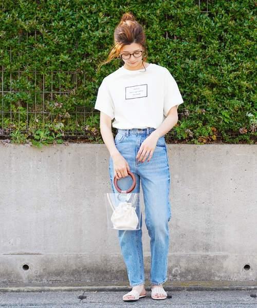 [reca] コットンロゴTシャツ