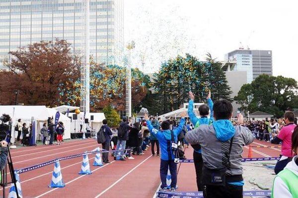 マラソン アシックス ASICS 42195DASH!! イベント タウンワーク townwork