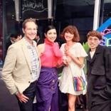 アンミカ&山田優に「ルブタンが履けるスタイルが羨ましい」の声 新作発表会で美脚披露