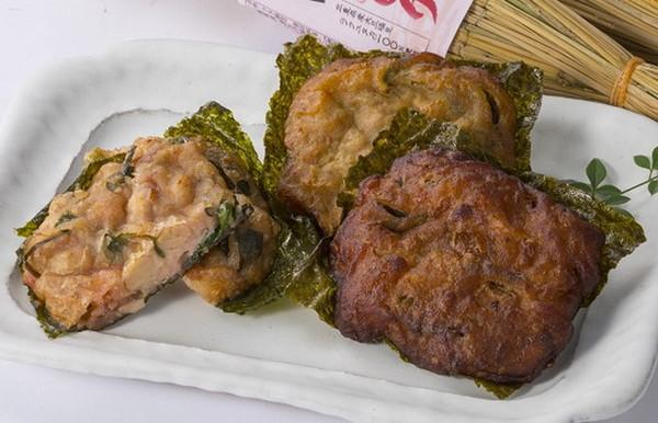 納豆揚げ(プレーン、カレー、ピリ辛)