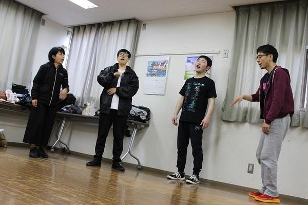 左から、坂本けこ美、松本D輔、森戸宏明、ヨシケン改