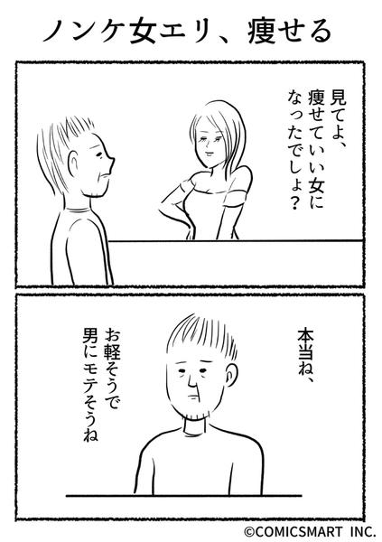 きょうのミックスバー 第293話(ノンケ女エリ、痩せる)