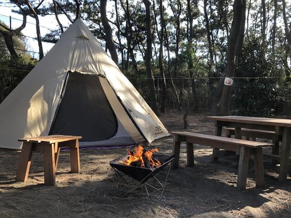 茅ケ崎市柳島キャンプ場