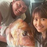 佐々木主浩氏の釣果を妻・榎本加奈子が報告 「相変わらずお綺麗」で鯛より目立つ結果に