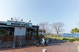 mint cafe(かんたん港園内)