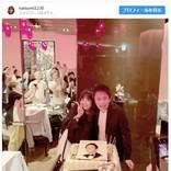 浜田雅功、夫婦うさ耳2ショットに大照れ「最悪や!」