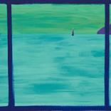 大宮エリー展『Peace within you』が、小山登美夫ギャラリーで開催 瀬戸内を旅して描いた新作を展示