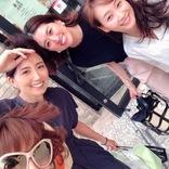 東原亜希、藤本美貴らとのランチ会ショットを公開「ミキティーー」