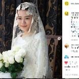 杉咲花、花嫁姿に「美しすぎる」「聖母マリア」と視聴者悶絶